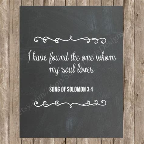 Wedding Bible Verses Song Of Songs by Chalkboard Song Of Solomon Bible Verse Wedding Quote Printable