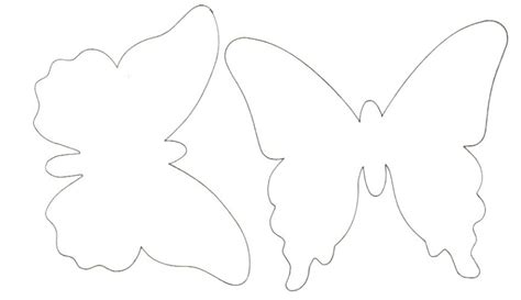 Best Photos of Spring Butterfly Pattern Template   Free