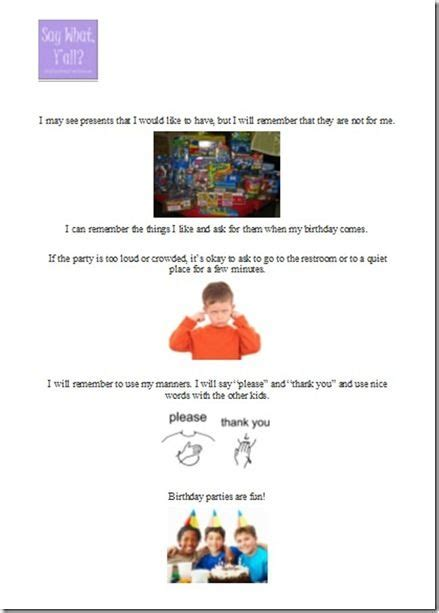 Tips On Writing Social Stories From Saywhatyall Autism Ideas For Social Stories