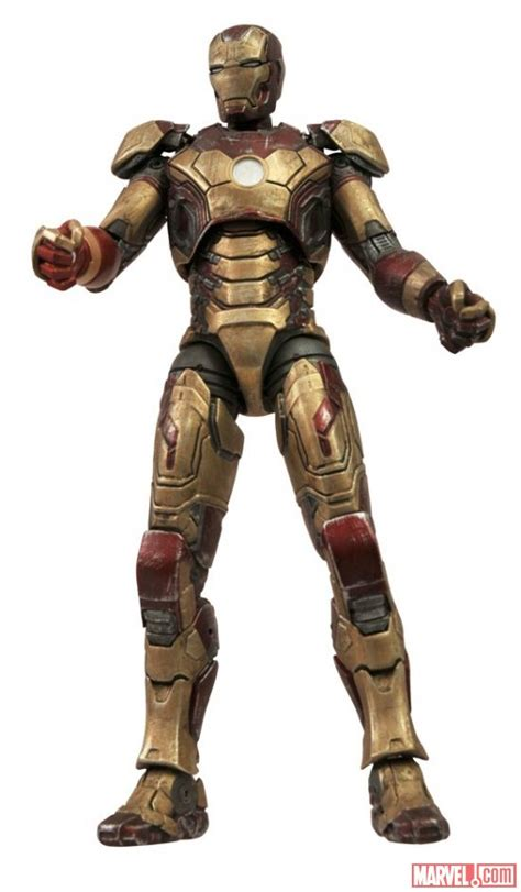 image disney store marvel select iron man mark