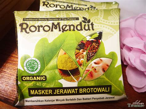 Masker Roro Mendut Jerawat sneak peek roro mendut traditional skin care silver treasure on a budget