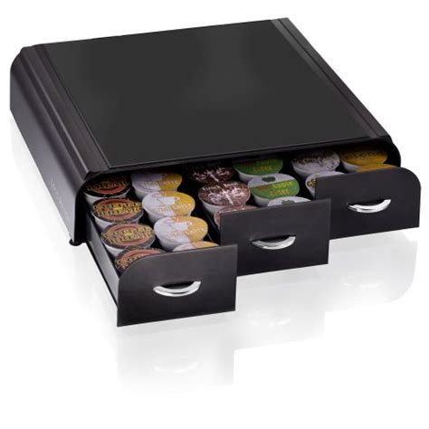 Mind Reader ?Anchor? Coffee Pod Storage Drawer for 36 Keurig K Cup, 42 CBTL/Verismo Coffee Pods