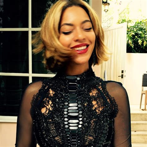 Beyonce Hairstyles by Beyonce Wears Bob Hairstyle Photos