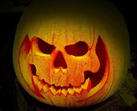 scary halloween pumpkin carving face ideas designs