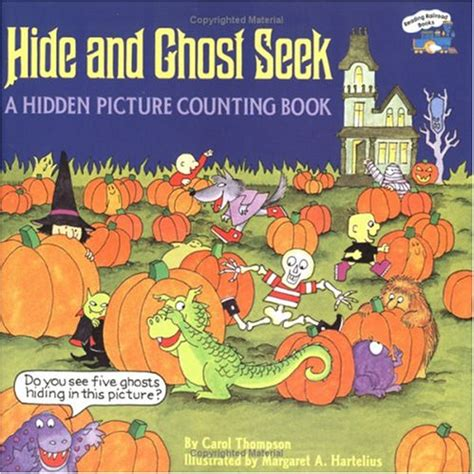 seek books hide and ghost seek by carol thompson reviews