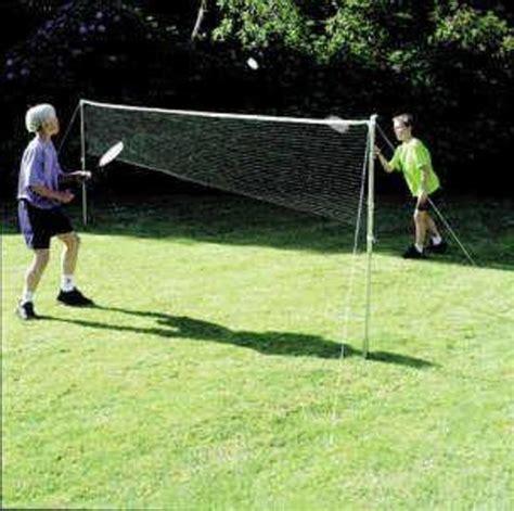 backyard badminton set outdoor kids games fun play badminton tennis combo