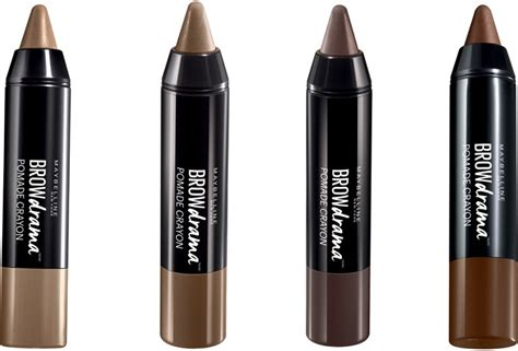 Maybelline Eyebrow Pomade maybelline new york brow drama pomade crayon reviews
