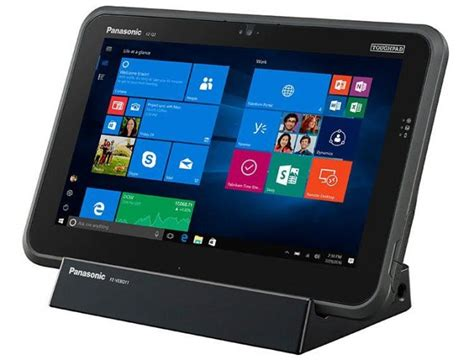 Panasonic Rugged Tablet by Panasonic Debuts Fz Q2 Rugged 2 In 1 Tablet With