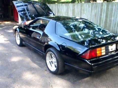 1986 camaro z28 for sale. youtube