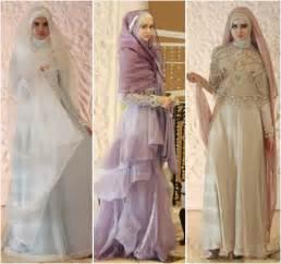 gamis syari bridal inilah baju pengantin muslimah syar i yang disarankan