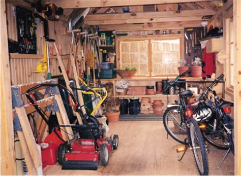 shed interior layout ideas garden shed interior the best way to landscape around a