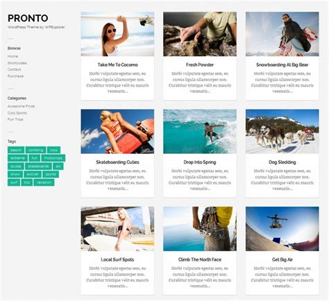 10 free responsive wordpress themes