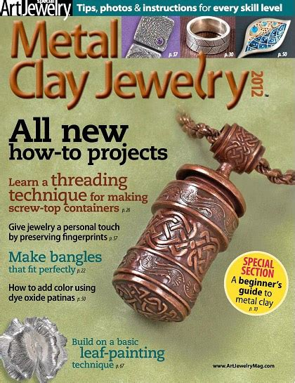 free jewelry magazines metal clay jewelry 2012 187 free pdf magazines digital