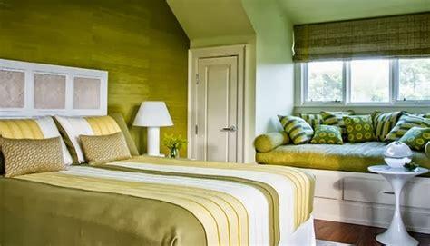 Desain Kamar Warna Hijau | desain kamar tidur warna hijau cerah desain rumah