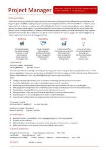 Project Manager Resume Template by It Project Manager Cv Template Project Management Prince2 Cv Exle Resume Erp