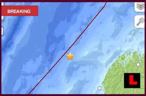 colombia earthquake today 2013 strikes off the coast