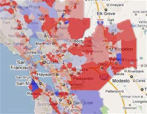san jose demographics map census and demographics san jose mercury news