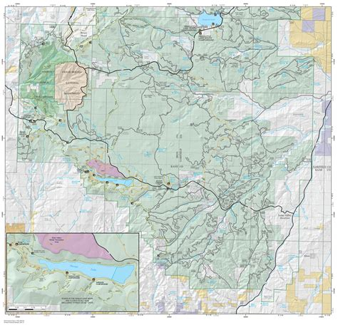 national forest map cedar breaks maps npmaps just free maps period