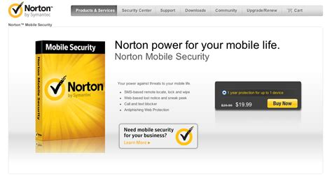 norton for android antivirus for mobile security free