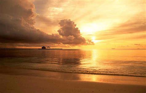 imagenes de paisajes en la playa fondo escritorio paisaje atardecer en la playa
