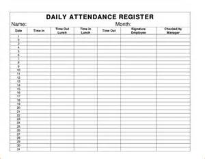 weekly attendance sheet template daily attendance sheet daycare attendance sheet png pay