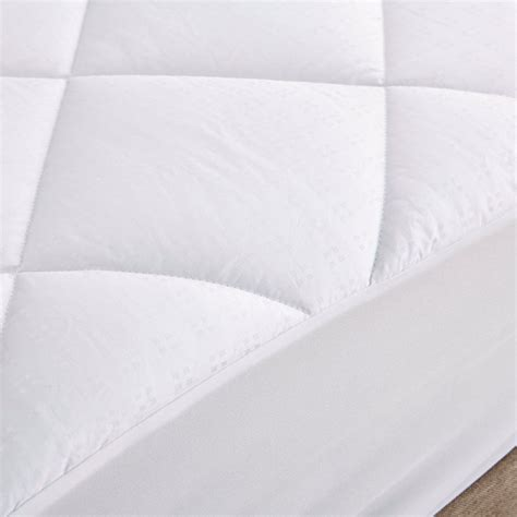 pillow top bed cover mattress pad twin size 100 cotton topper pillow top bed