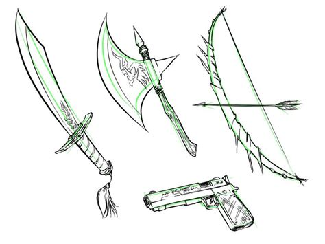 doodle how to make weapon 17 best images about weaponry accesseries on