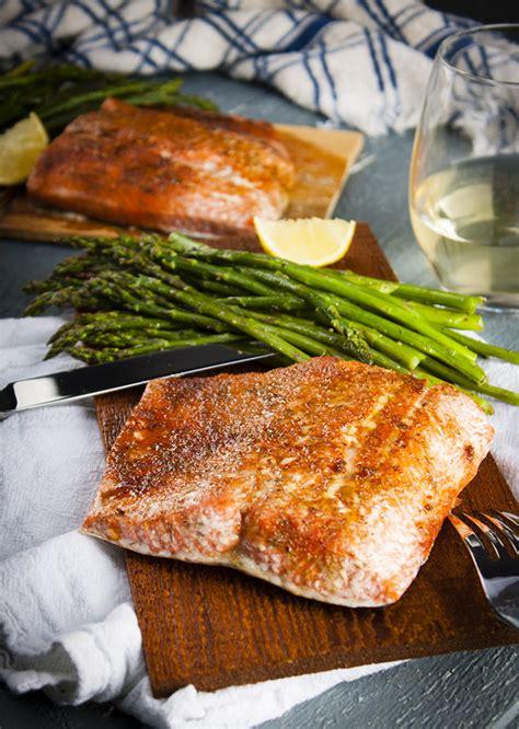 salmon in oven cedar plank salmon in the oven home sweet jones
