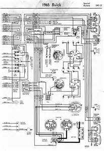 wiring diagram for 1965 buick special and skylark part 2 circuit wiring diagrams