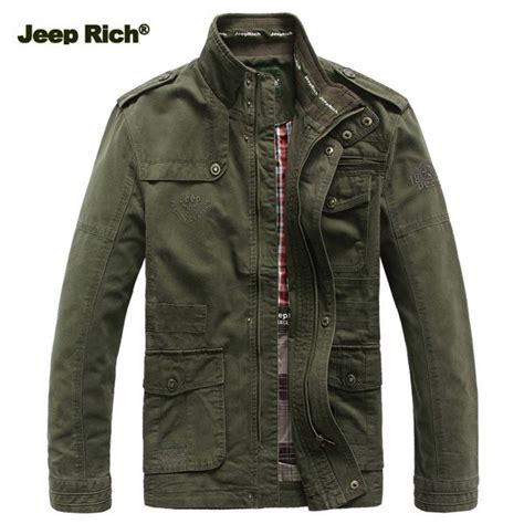 Jeep Rich Big Size S 5xl Men Outdoor Autumn Cotton Blend