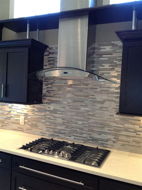 Glass Tile Backsplash Kitchen by Design Elements Creating Style Through Kitchen