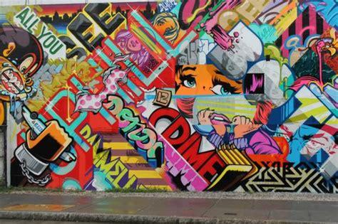 graffiti artists paint mural  promote   york