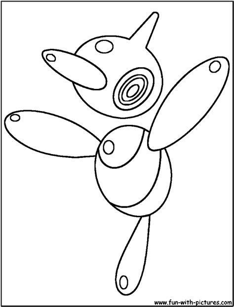 pokemon z coloring pages porygon pokemon color images pokemon images