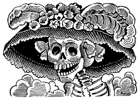 imagenes de la catrina de dia de muertos historia del d 237 a de los muertos las cosas que nunca