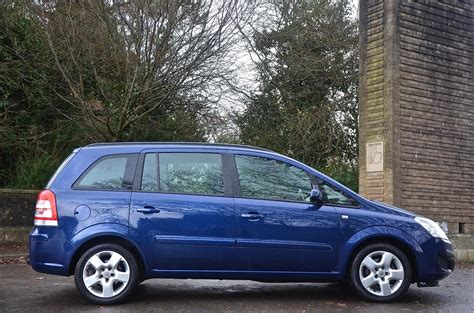 vauxhall zafira 2008 used 2008 vauxhall zafira exclusiv for sale in south