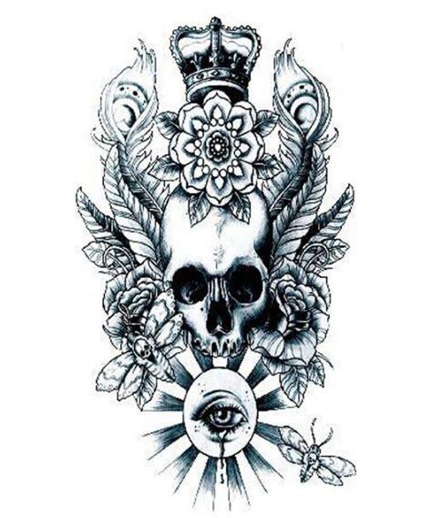 Lc573 Wolf Tatto Stiker Temporer 25 ide terbaik tentang tato pria di tato suku