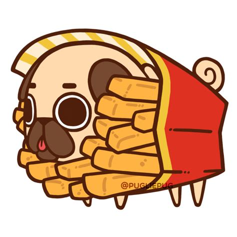 puglie pug food puglie pug it s fries day fries day gotta eat lots of fries