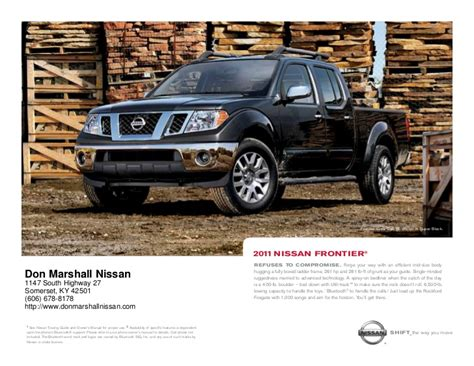 nissan frontier  sale  lexington ky don