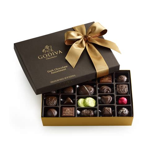 godiva chocolate 27 pc chocolate gift box godiva