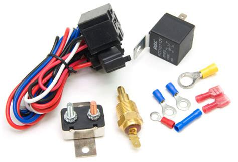 Fan Universal Aeroflow af49 1006 fan relay with thermostat aeroflow performance