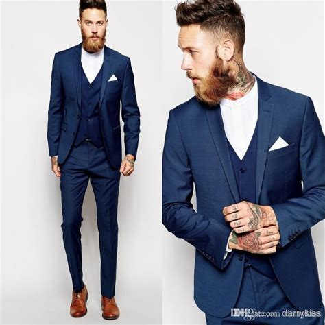 Best Seller Jas Raymond Ak Blazer Pria Katun Strecth Hitam Termurah prom tux 2015 blue 2015 groom tuxedos slim fit best suit formal evening wedding suits