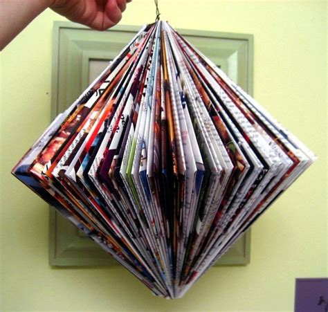 Magazine Paper Craft - 42 simple newspaper craft ideas for with tutorials