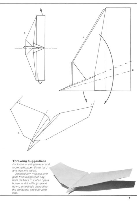 Origami Glider Plane - paper aircraft