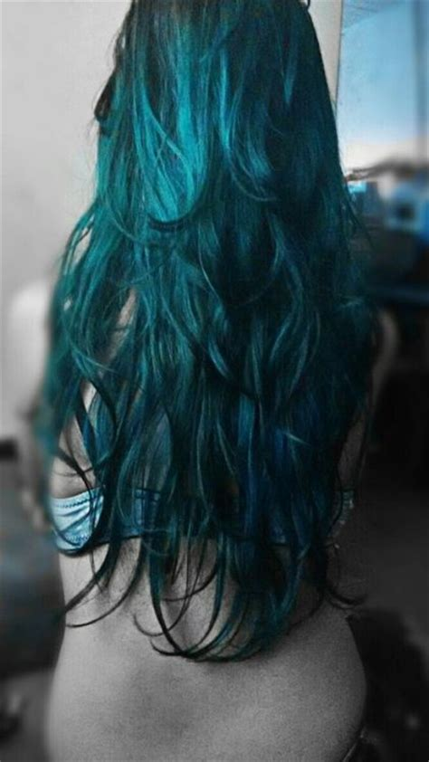 teal color hair best 25 teal hair color ideas on teal ombre