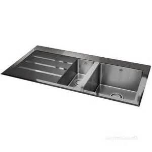 silhouette black glass kitchen sink with 1 5 bowl and left