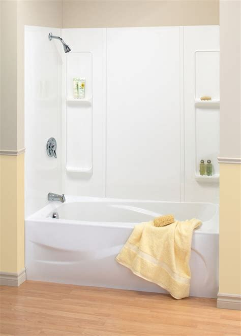 bathtub wall kit maax 59 alabama tub wall kit the home depot canada