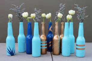 diy basics bottle bud vases brit co