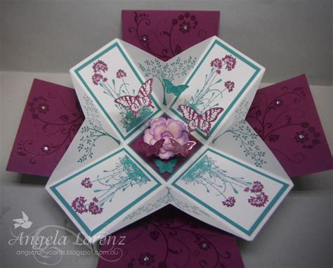 explosion box card tutorial 238 best cards explosion box images on pinterest