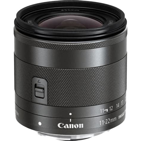 Hortigro A 22 11 22me canon ef m 11 22mm f 4 5 6 is stm lens 7568b002 b h photo