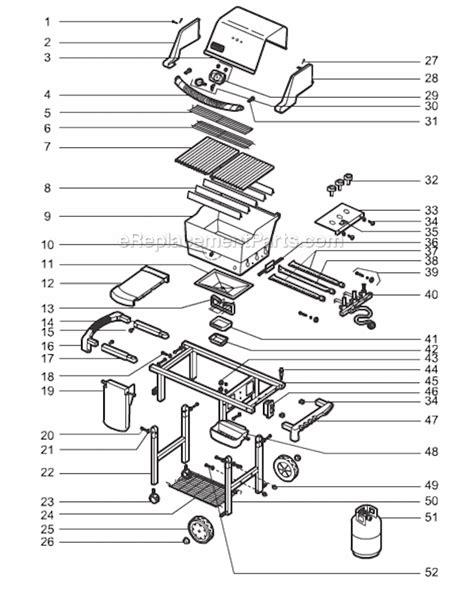 weber genesis parts diagram weber 55549 parts list and diagram ereplacementparts